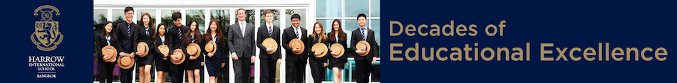 Harrow International School Bangkok - Top Main Banner every page
